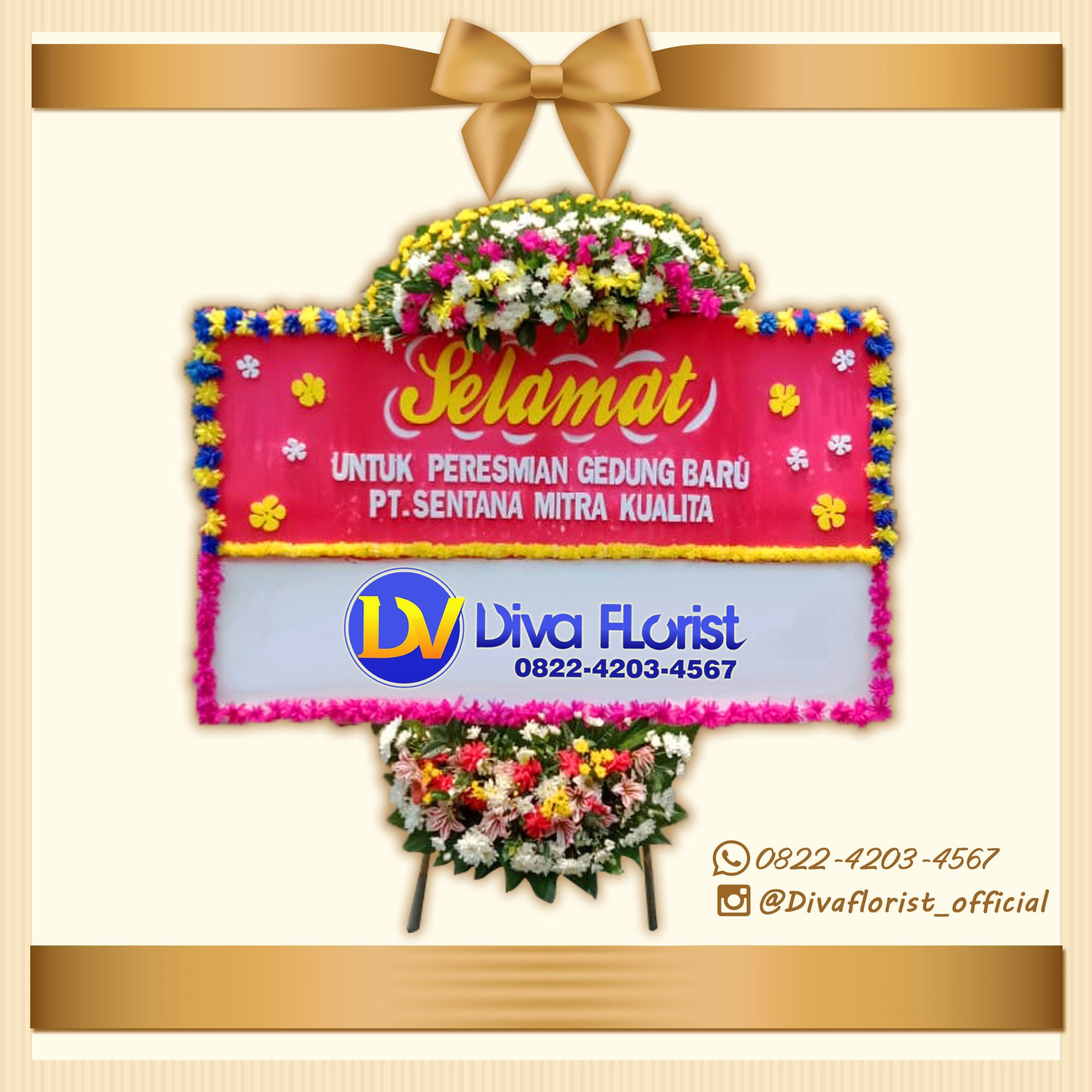 Bunga Papan Happy Wedding 4